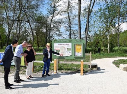 Inauguration sentier d'interprétation ENS - 21-04-18 001